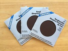 "Genuine Dremel 5"" Aluminum Oxide, Sanding Discs (self adhesive back)(120 grit)"