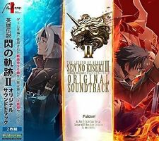 THE LEGEND OF HEROES SEN NO KISEKI II ORIGINAL SOUNDTRACK 2 CD