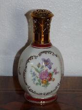 Superbe rare ancienne lampe Berger en porcelaine Couleuvre