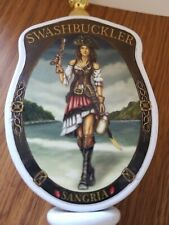 Swahbucker sangria beer sexy pirate girl with gun tap handle bar pub pa
