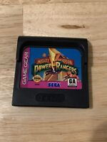 Mighty Morphin Power Rangers Sega Game Gear Video Game Cart
