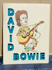 DAVID BOWIE Figurina Panini's Sticker