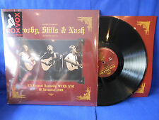 CROSBY STILLS NASH LIVE 1989 NYC 2LP LIMITED REPRESS EXC+