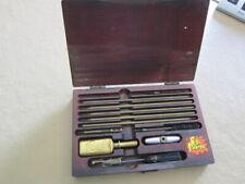 Vintage OL' SARGE Gun Cleaning Kit Wooden Box 1940's