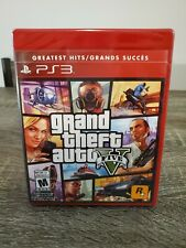 Grand Theft Auto V 5 Five (PlayStation 3) BRAND NEW & SEALED!! GTA5 online PS3