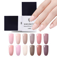 10ml Soak Off UV Gel Polish  Color Nail Art  Varnish DIY BORN PRETTY