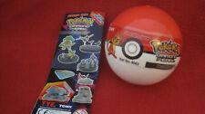 1 Pokemon-Figuren-Gacha-Ball /Zukan/ Turtwig/Grotle/Torterra(Chelast+Chelcarain)