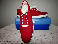 NEW KEDS Canvas Red Shoes Champion Ox Canvas Size:6.5 6 1/2 WF31300 NIB Box