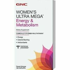 GNC Ultra Mega Energy Metabolism for Women - 180 Caplets