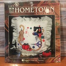 Hometown Collection Sewing Pillow Cross Stitch Kit Designs For The Needle