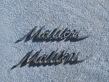 1966 1967 CHEVROLET MALIBU FENDER QUARTER EMBLEMS ORIGINALS USED GM