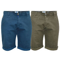 Mens Chino Shorts D555 Duke Big King Size Knee Length Roll Up Casual Summer New