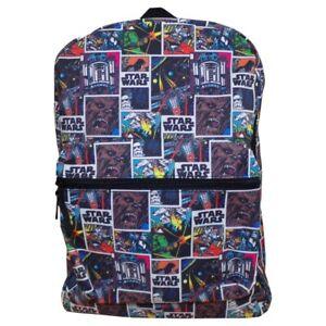 Star Wars Large Backpack | Comic Rucksack | Boys School Bag | Adult Laptop