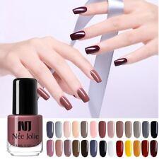 48 Colors NEE JOLIE Nail Polish Glitter Shiny Nagellack Pink Blue Pure Tipss