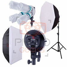 Continu éclairage studio softbox kit - 4000w jinbei pro Sun400 cfl photo vidéo