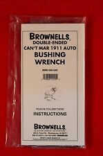 Brownells Double Ended Can't Mar 1911 Auto Bushing Wrench