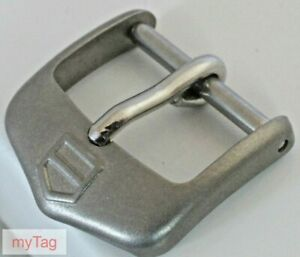 TAG Heuer Steel Tang pin Buckle 16mm