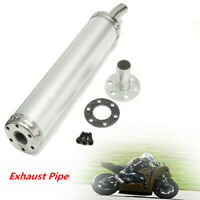 Motorcycle Exhaust Muffler Silencer Pipe 2 Stroke Street Dirt Bike Scooter US
