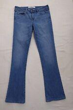Abercrombie & Fitch DIST/Bleach SLIM/Stile di etichetta Jeans Dritti W29 L33 Taglia 8 R