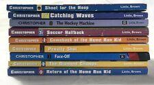 Lot of 9 Matt Christopher Chapter Books