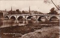 English Bridge Rebuilt 1927, SHREWSBURY, Shropshire RP