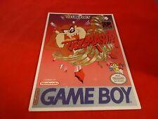 Taz-Mania Nintendo Game Boy Vidpro Promotional Display Card