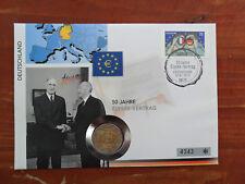 Numisbrief 2 Euro Deutschland Elysee 2013