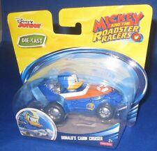 DISNEY JUNIOR DIE CAST MICKEY & THE ROADSTER RACERS DONALD'S CABIN CRUISER, NEW