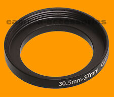 30.5mm to 37mm 30.5-37 Stepping Step Up Filter Ring Adapter 30.5mm-37mm M to F