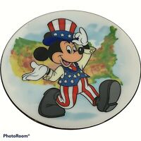 Mickey Mouse New England Collectors Society's Disney Character Porcelain Plate