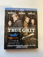 True Grit w/ Slipcover (Bluray/DVD, 2010) [BUY 2 GET 1]
