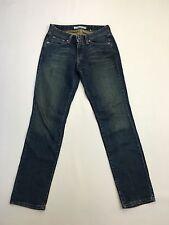 Para mujer Levi 503 'Corte Skinny Jeans' - W28 L32-Azul Marino-Excelente Estado