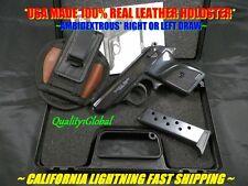 METAL 007 BOND WALTHER PPK MOVIE PROP Pistol Replica Hand Gun Training W HOLSTER