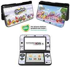 Shopkins Vinyl Skin Sticker for Nintendo 3DS XL