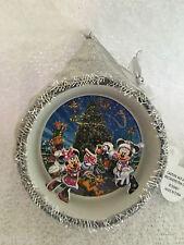 Santa Disney Mickey & Minnie Mouse Olaf Dumbo Tinkerbell Diorama Xmas Ornament