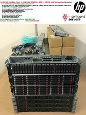 HP DL360p Gen8 HP P2000 G3 Server SAN Cluster 66TB 64Cores 128Threads 512GB RAM