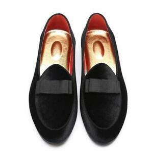 Mens Faux Leather Business Shoes Oxfords Slip on Pointy Toe Nightclub Loafers L