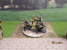 20mm Britannia Miniatures WW2 German Mountain Troops 80mm Mortar Team  painted