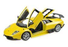 Voitures, camions et fourgons miniatures jaunes Bburago pour Lamborghini