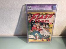 FLASH COMICS #16  1941  CGC 6.5