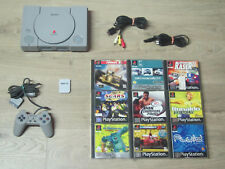 Playstation 1 komplett mit 2 Gratis Spiele + Controller + MC PS1 PS 1 Konsole