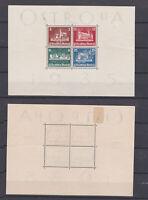GERMAN REICH 1935 Ostropa Stamps Mint (*) B68 (Mi.576-579)