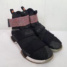 Nike Mens Lebron Soldier 10 Black Purple Size 9