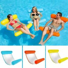 New listing Water hammock recliner inflatable floating Swimming Mattress sea swimming ring P