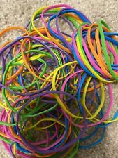 New Lot Of 70 Neon Rubber Bands 3 12 Office School Crafts Projects