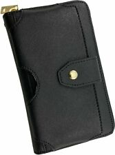 Universal Black Clutch Bag Wallet Case with Lanyard Strap for iPhone 11 XR Xs