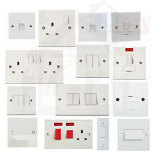 1 & 2 Gang Electric plug sockets and light switches Bulk Buy & Save 1 & 2 Way