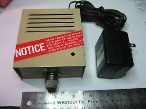 Gas Fume Detector Vintage 12V for Parts or Restoration As-Is - USED