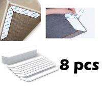8Pcs Anti Slip Soft Mat Rug Carpet Anti Curling Rug Grippers Tape Floor Home