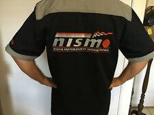 NISMO Nissan Motorsports International Mens Button Front Shirt M & XXL